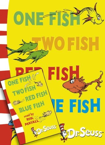 One fish two fish red fish blue fish by dr seuss for One fish two fish book