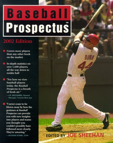 Baseball Prospectus 2002 Ed by Joseph S. Sheehan