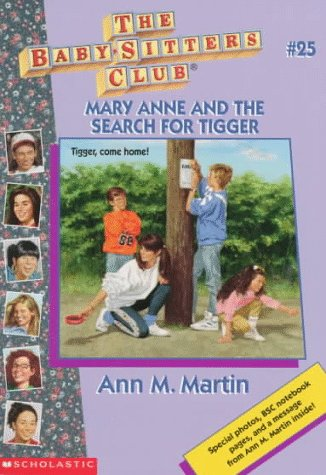 Mary Anne and the Search for Tigger by Ann M. Martin