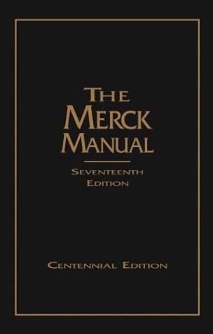 The Merck Manual of Diagnosis and Therapy, 17th Edition (Cent... by Merck Publishing Group