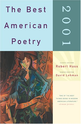 The Best American Poetry 2001 by Robert Hass