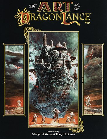 The Art of the Dragonlance Saga by Mary Kirchoff