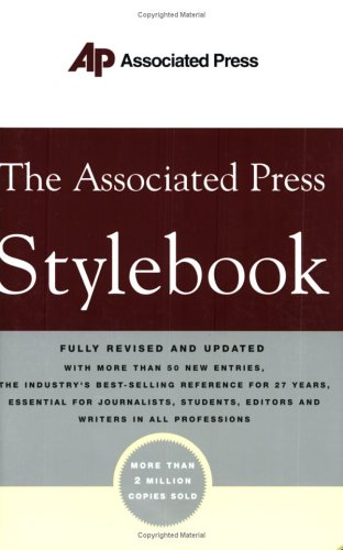 AP Stylebook and Briefing on Media Law (Associated Press Stylebook and Briefing on Media Law)
