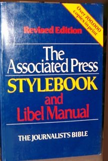 The Associated Press Stylebook and Libel Manual by Associated Press