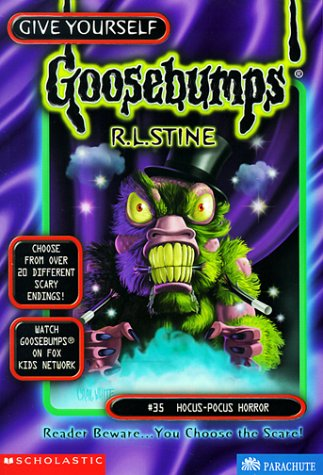 Hocus-Pocus Horror by R.L. Stine