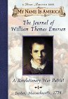 Journal Of William Thomas Emerson, A Revolutionary War Patriot by Barry Denenberg