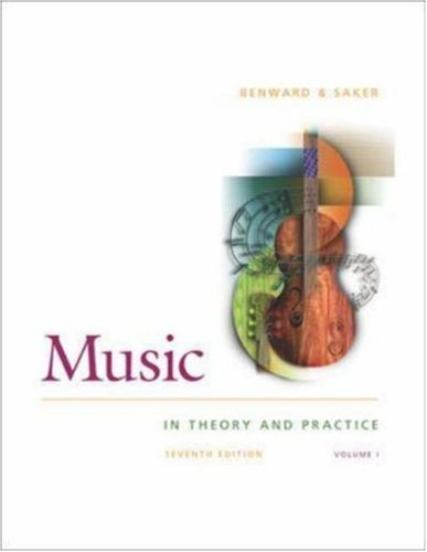 Music in Theory and Practice: Volume 1 [With CD]