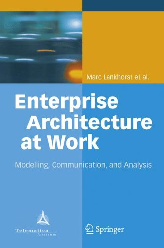 Enterprise Architecture at Work by Marc Lankhorst
