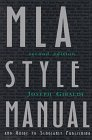 MLA Style Manual and Guide to Scholarly Publishing (2nd ed.)