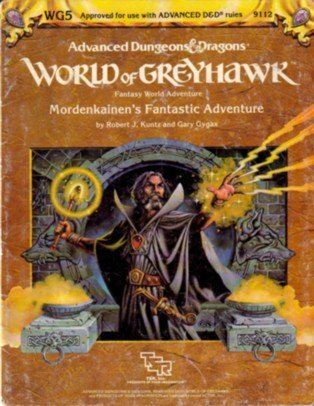 Mordenkainen's Fantastic Adventure: World Of Greyhawk, Fantasy Word Adventure