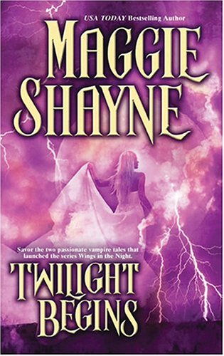 Twilight Begins (2-in-1) by Maggie Shayne
