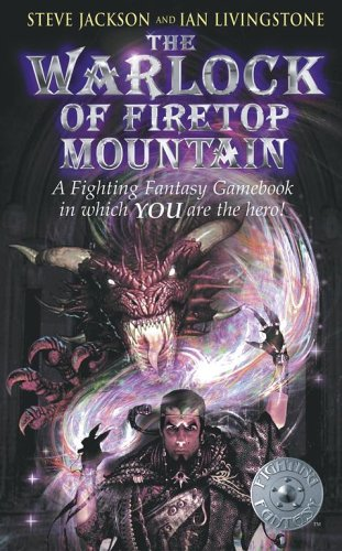 The Warlock of Firetop Mountain by Steve Jackson