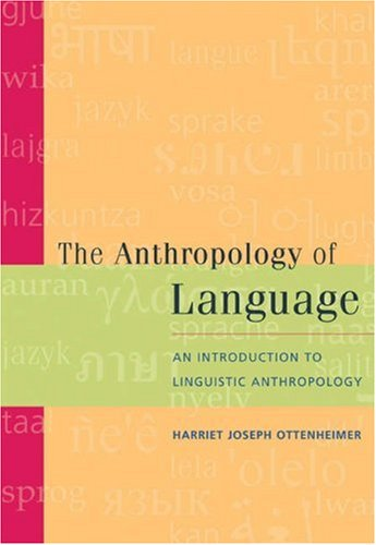 linguistic anthropology essays