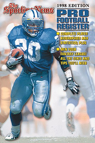 Pro Football Register 1998 Edition