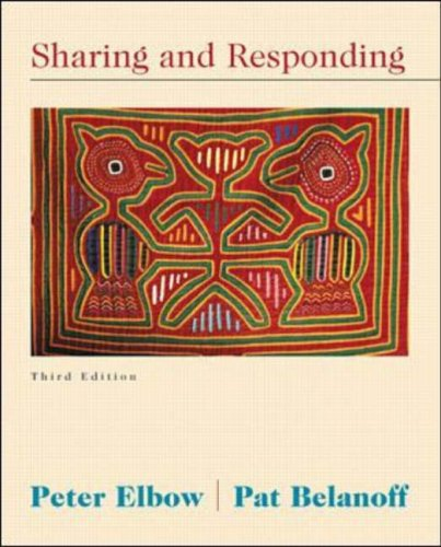 Sharing and Responding by Peter Elbow