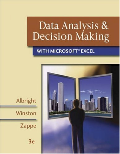 Data Analysis and Decision Making with Microsoft Excel [With ... by S. Christian Albright
