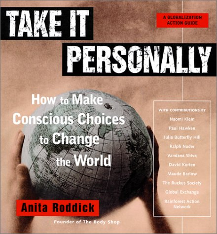 Take It Personally by Anita Roddick