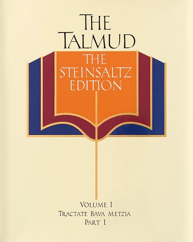 The Talmud, The Steinsaltz Edition, Volume 1 by Adin Steinsaltz