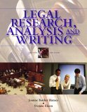 Legal Research, Analysis, and Writing: An Integrated Approach