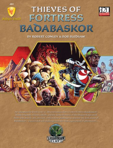 Thieves of Fortress Badabaskor by Robert Conley