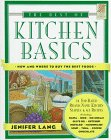 Wings Great Cookbooks: Best of Kitchen Basics by Jennifer Lang (Wings Great Cookbooks)