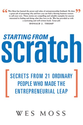 Starting From Scratch by Wes Moss