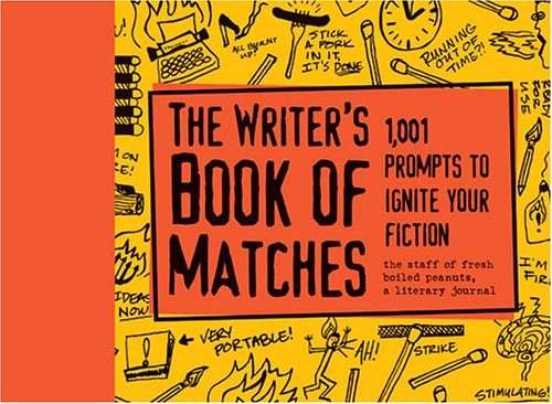 Writers Book of Matches by Fresh Boiled Peanuts