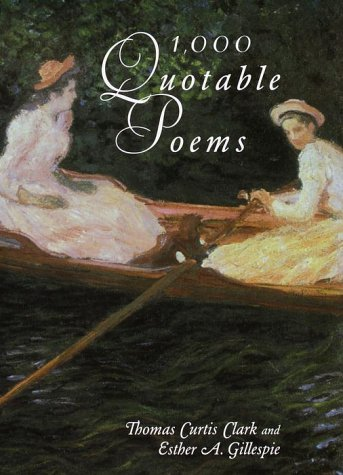 1000 Quotable Poems