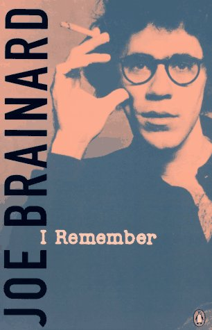 I Remember by Joe Brainard