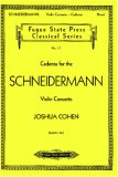 Cadenza For The Schneidermann Violin Concerto (Fugue State Press Classical)