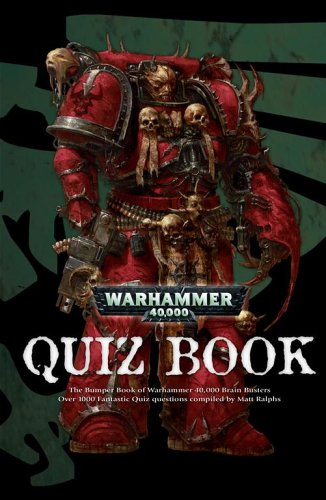 Warhammer 40,000 Quiz Book by Chris Beaumont