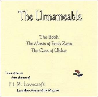 The Unnameable by H.P. Lovecraft