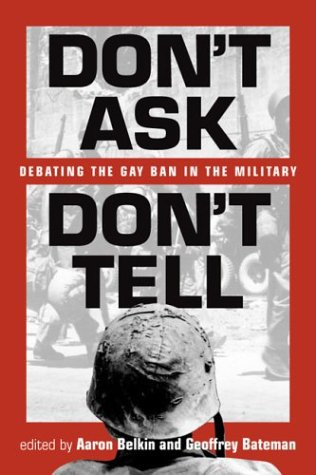 Don't Ask, Don't Tell by Neale E. Monks