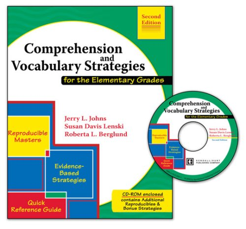 Comprehension and Vocabulary Strategies for the Elementary Grades W/ CD ROM
