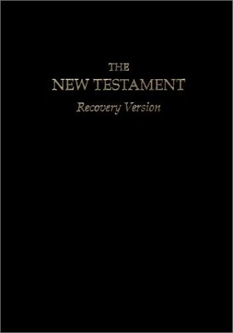 New Testament Recovery Version by Anonymous