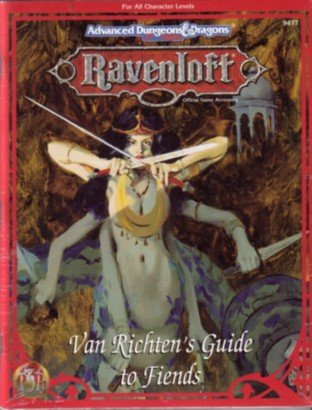 Van Richten's Guide to Fiends: Ravenloft Accessory