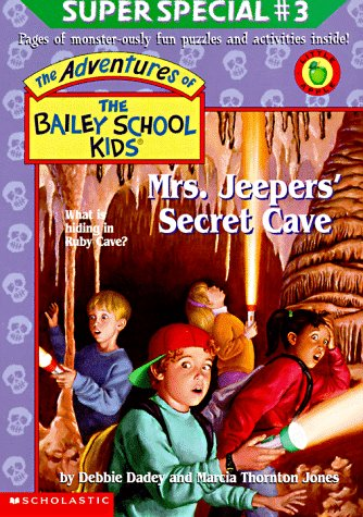 Mrs. Jeepers' Secret Cave by Debbie Dadey