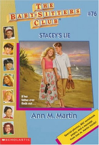 Stacey's Lie by Ann M. Martin