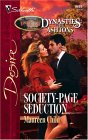 Society-Page Seduction (Silhouette Desire, #1639) (Dynasties: The Ashtons, #3)