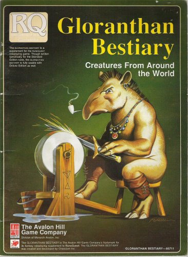 Gloranthan Bestiary by Sandy Petersen