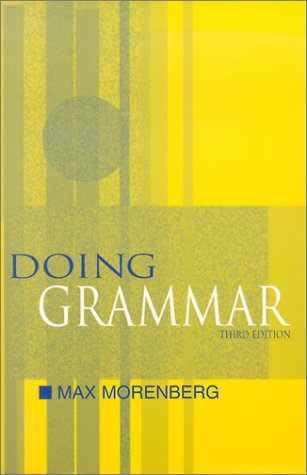 Doing Grammar by Max Morenberg