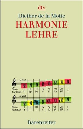 Harmonielehre by Diether de La Motte