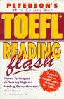Peterson's TOEFL Reading Flash: The Quick Way to Build Reading Power