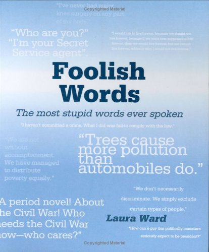 Foolish Words by Laura Ward