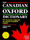 The Canadian Oxford Dictionary: Thumb-Indexed