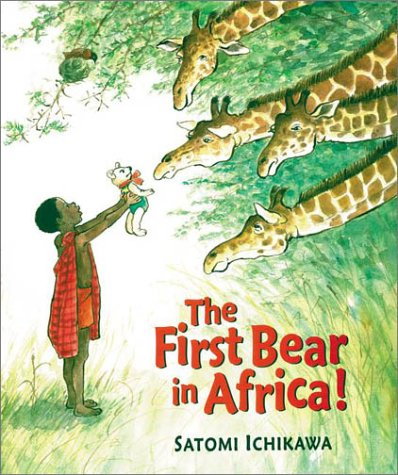 The First Bear in Africa!