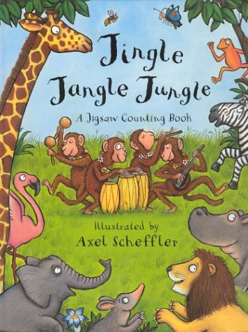 Jingle Jangle Jungle (Jigsaw Book)