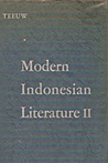 Modern Indonesian Literature Volume II