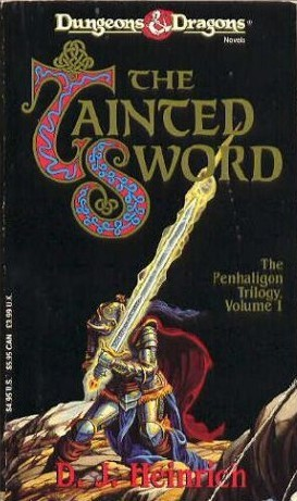 The Tainted Sword by D.J. Heinrich