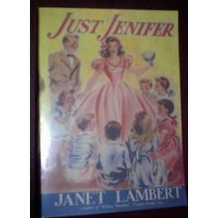 Just Jenifer by Janet Lambert